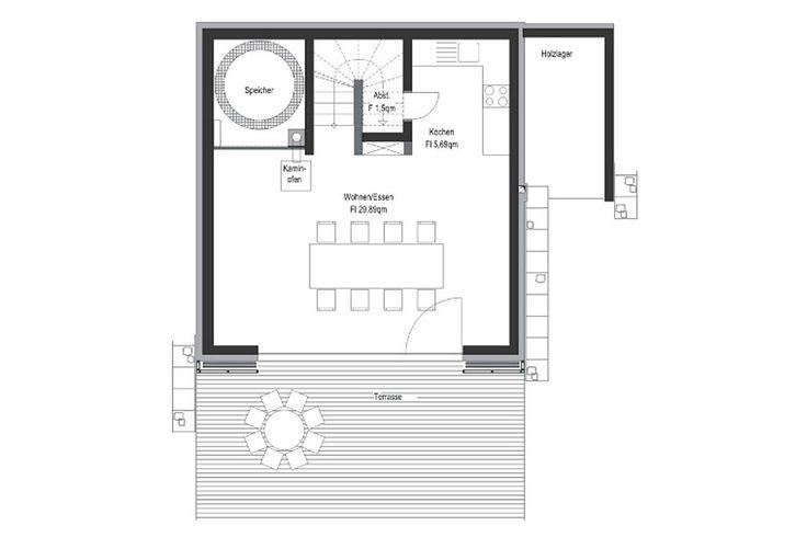 FASA AG ENERGETIKhaus100 Grundrisse