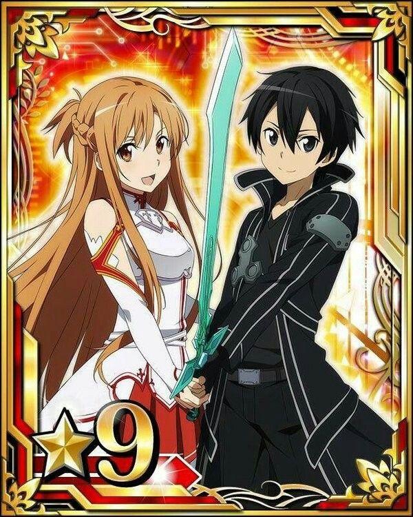 Asuna & Kirito (SAO)