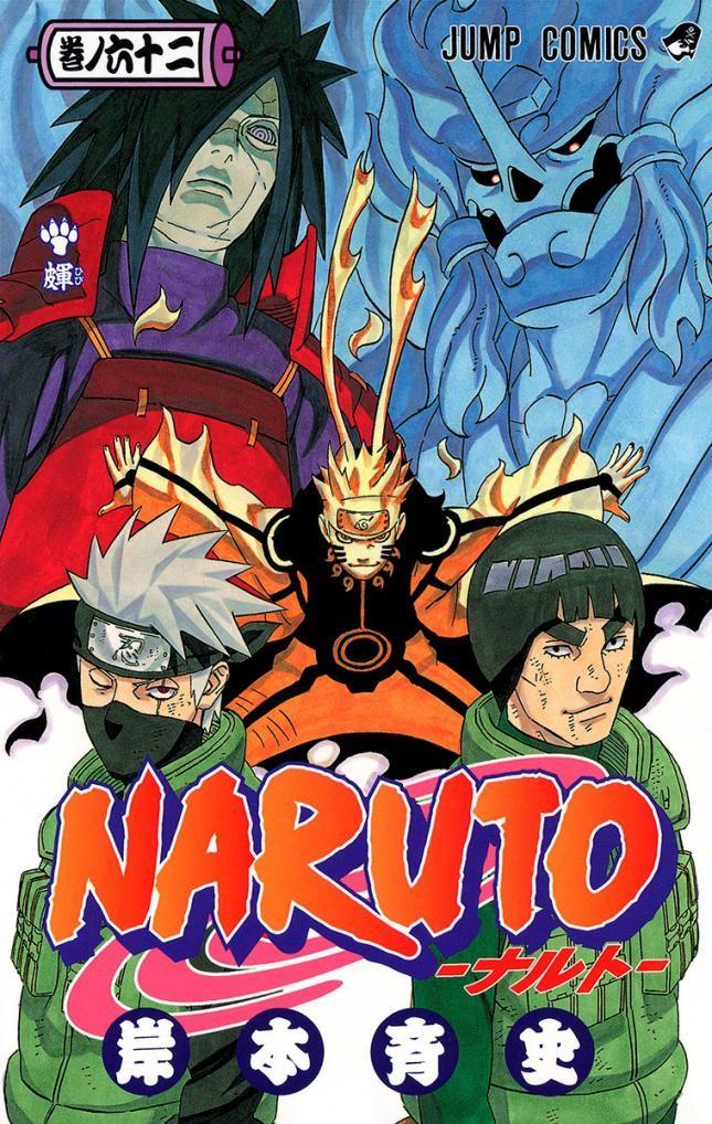 Todas las portadas de Naruto