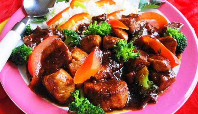 Surinaams eten – Chicken Javaan Trafasie (Surinaams-Javaanse kip)