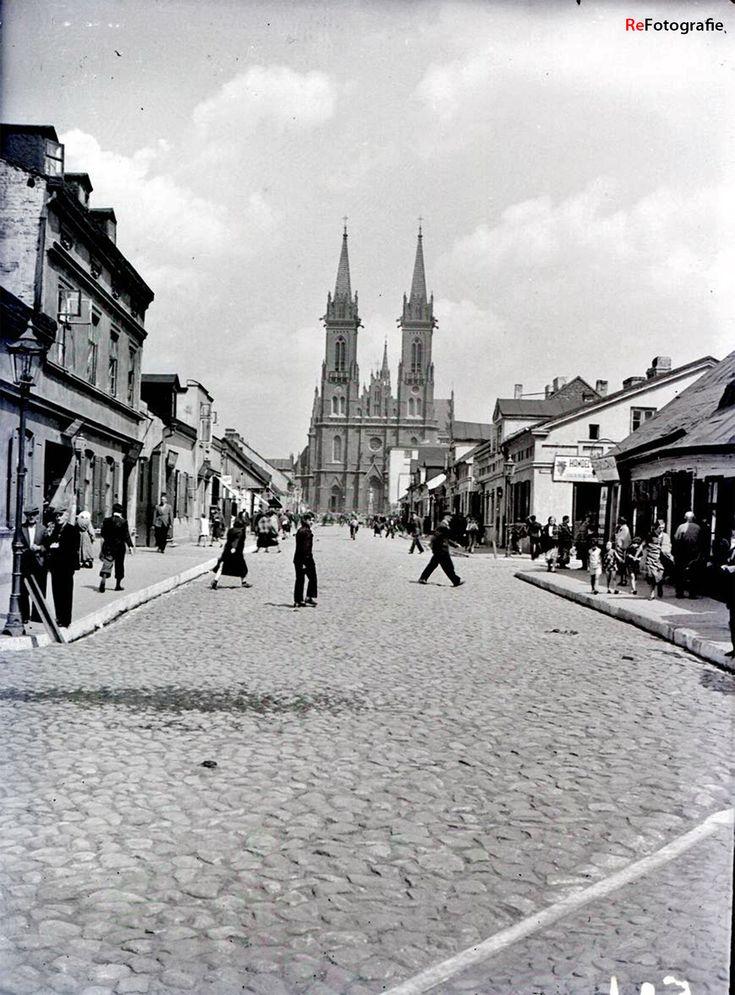 Łódź - Bałuty, ul. Lutomierska (lata 30. XX w.)
