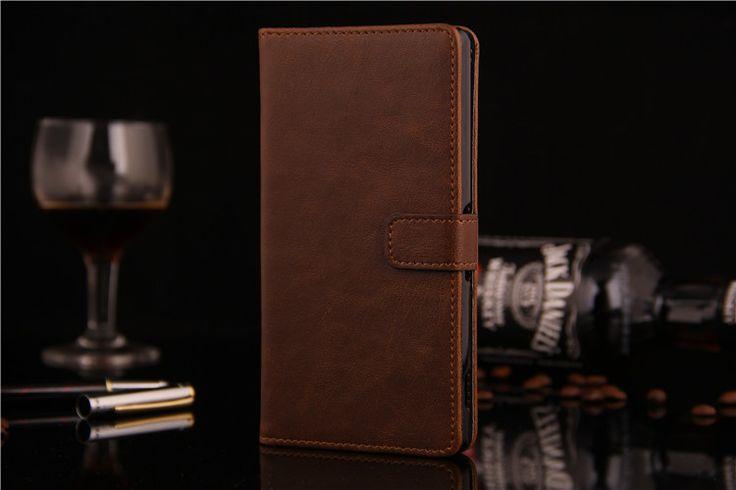Πολυτελής Θήκη Πορτοφόλι Wallet Case OEM Καφέ (Xperia Z2) - myThiki.gr - Θήκες Κινητών-Αξεσουάρ για Smartphones και Tablets - Χρώμα καφέ