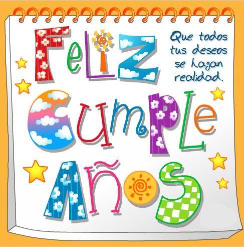 Feliz cumpleaños!                                                                                                                                                      Más