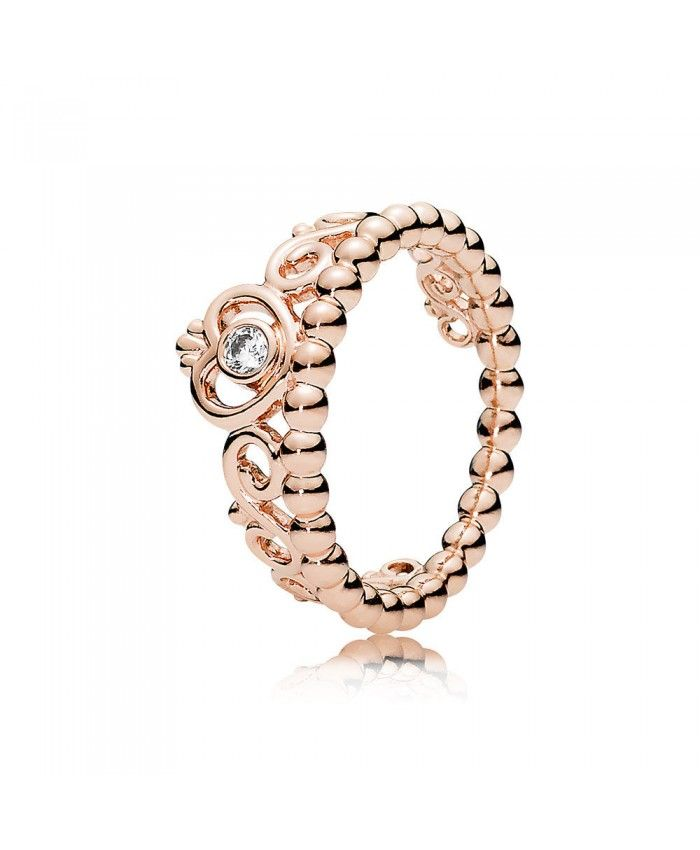Cheap Pandora My Princess Tiara Rose Gold Ring Online Sale UK