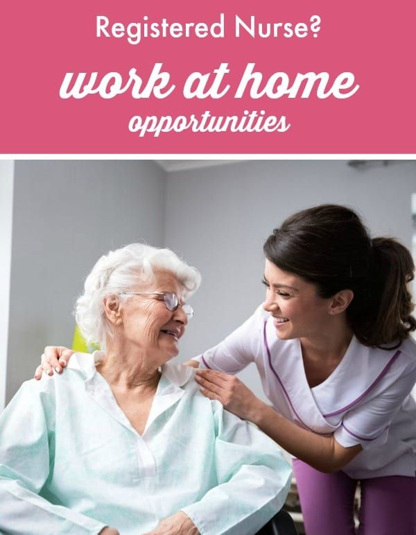 Registered Nurse Work At Home Opportunities Registered Nurse