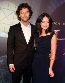 Irish Poldark star Aidan Turner engaged to actress girlfriend ...
