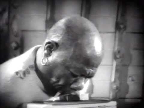 Freaks (1932) Prince Randian, The Living Torso Lights a Cigarette