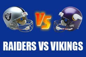 Oakland Raiders vs Minnesota Vikings Live NFL Streaming