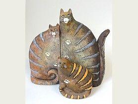 Kočky skládačka - 3ks, KT026