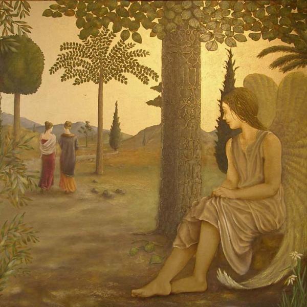 BARBARA GERODIMOU * Greece * 1959 * www.gerodimou.com * * The Path ~ angel