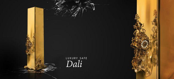 Dali Luxury Safe by Boca do Lobo http://www.pinterest.com/bocadolobo/private/  #baselworld2014 #BocadoLobo #baselworld #luxurysafes