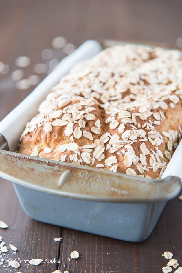 This Gluten-Free Oatmeal Millet Bread is a hearty, soft loaf of bread that can be used for everything from sandwiches to toast.