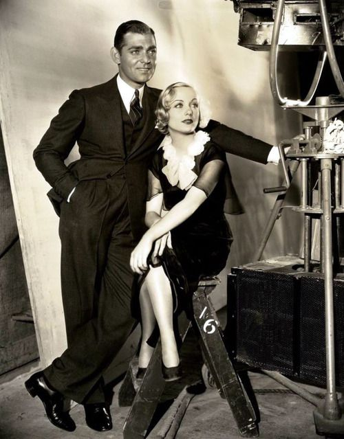 Hollywood Couple ~ Gable and Lombard