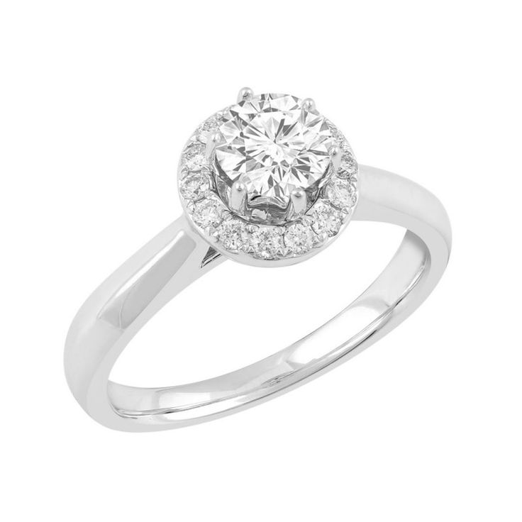 Love by Michelle Beville 18ct White Gold 81pts of Diamond Ring. Available in stores or online - 9B14000