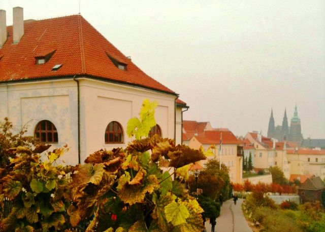 One of Britain's favourite poems, 'To Autumn' - an ode by John Keats sums up the spectacular bounty this season brings. Poem and photos of Autumn including this one of Prague.