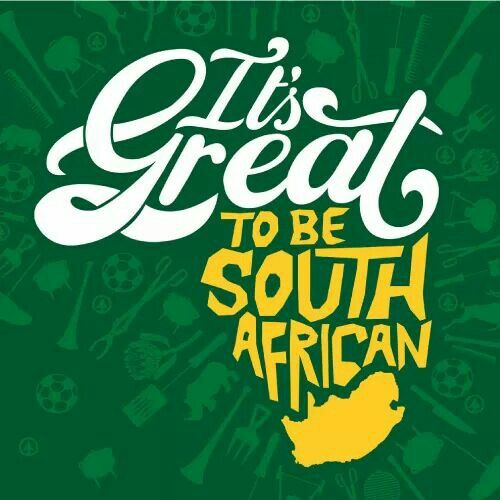 PROUDLY South African!!!