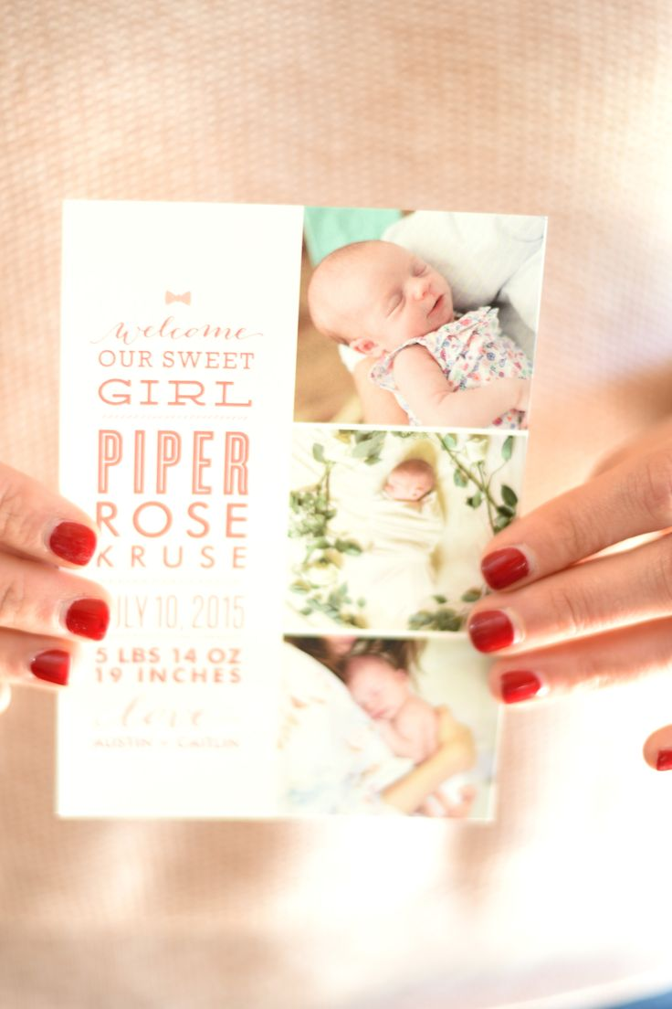 11 best Pregnancy and Birth Announcements images – When to Send Birth Announcements