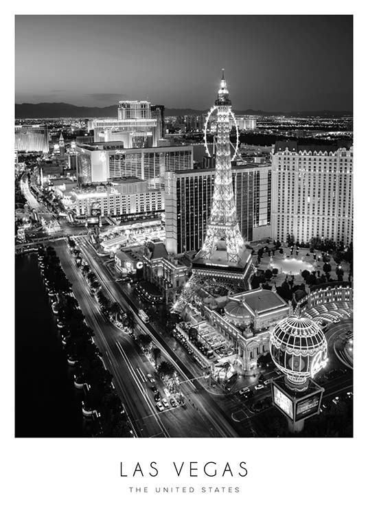 Las Vegas Poster in the group Posters & Prints at Desenio AB (8922) –   #