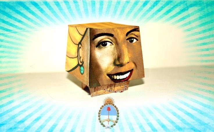 """Evita"" art toy  para el Centro Pompidou -Francia"