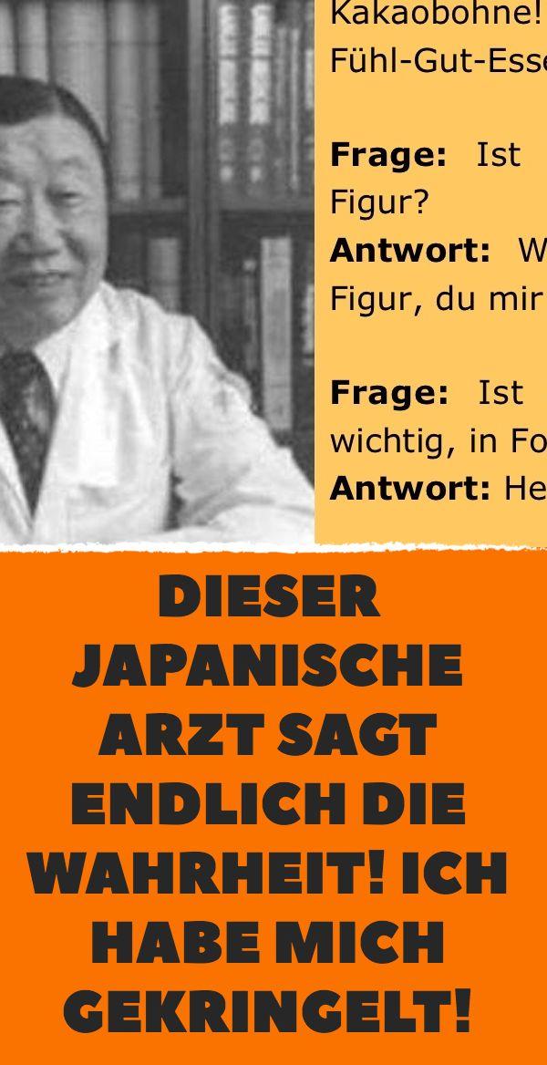 Dieser japanische Arzt sagt endlich die Wahrheit! …