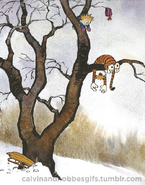 Animated GIFs bring Calvin and Hobbes to life