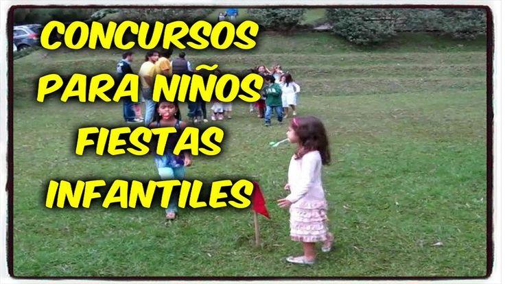CONCURSOS PARA NIÑOS  CUMPLEAÑOS