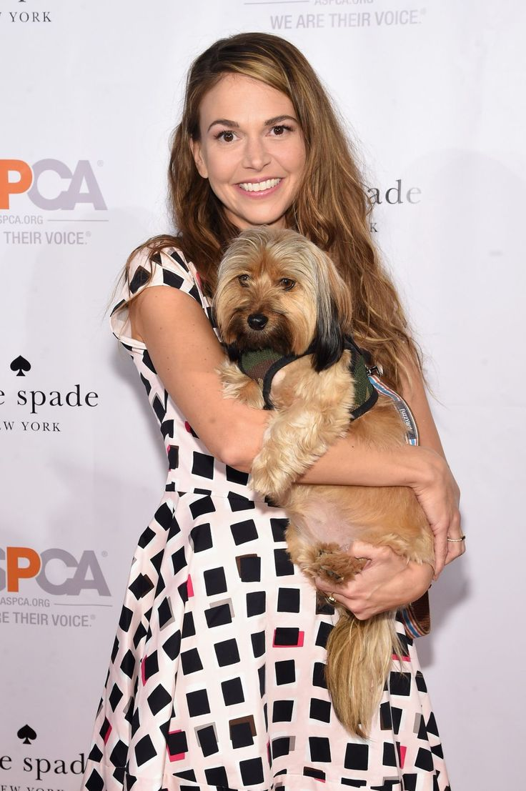 Co-host, actress Sutton Foster attends the ASPCA Young Friends benefit at IAC Building on October 15, 2015 in New York City. Description from gettyimages.co.uk. I searched for this on bing.com/images