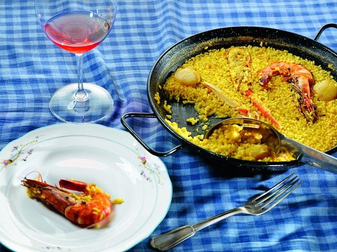 Внесезонные рецепты: Паэльи Хорхе де Анхеля Молинера – «Афиша-Еда»