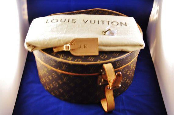 Vintage Louis Vuitton Hat Box by Autresor on Etsy, $3250.00
