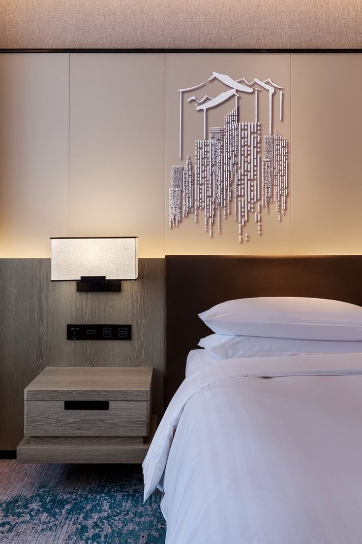Contemporary Hotel Rooms: Hangzhou Marriott Hotel Lin'an(Yang & Associates Group