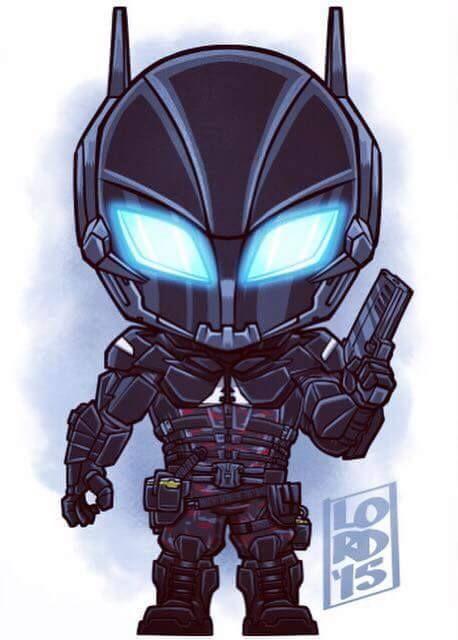 El Caballero De Arkham aka Jason Todd.