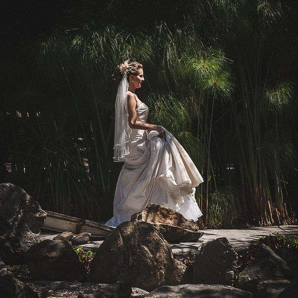Bride at the secret garden #huayacan #bodasmorelos #mexico #wedding #photographer