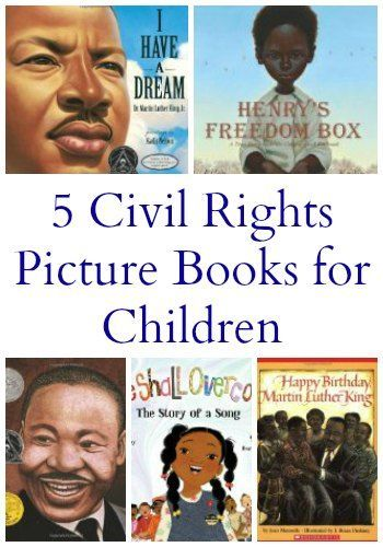 5 Civil Rights Books for Elementary Students | The Jenny Evolution