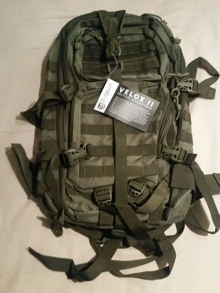 Super cool EDC bag from 3V Gear.  Velox II Tactical Assault Pack.  This bag is a quality bag at a reasonable price.