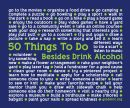 50 Things To Do Besides Drink