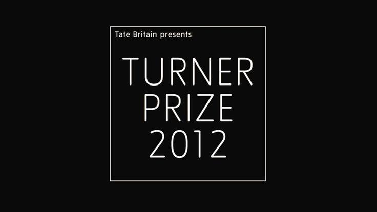 Turner Prize 2012 exhibition banner