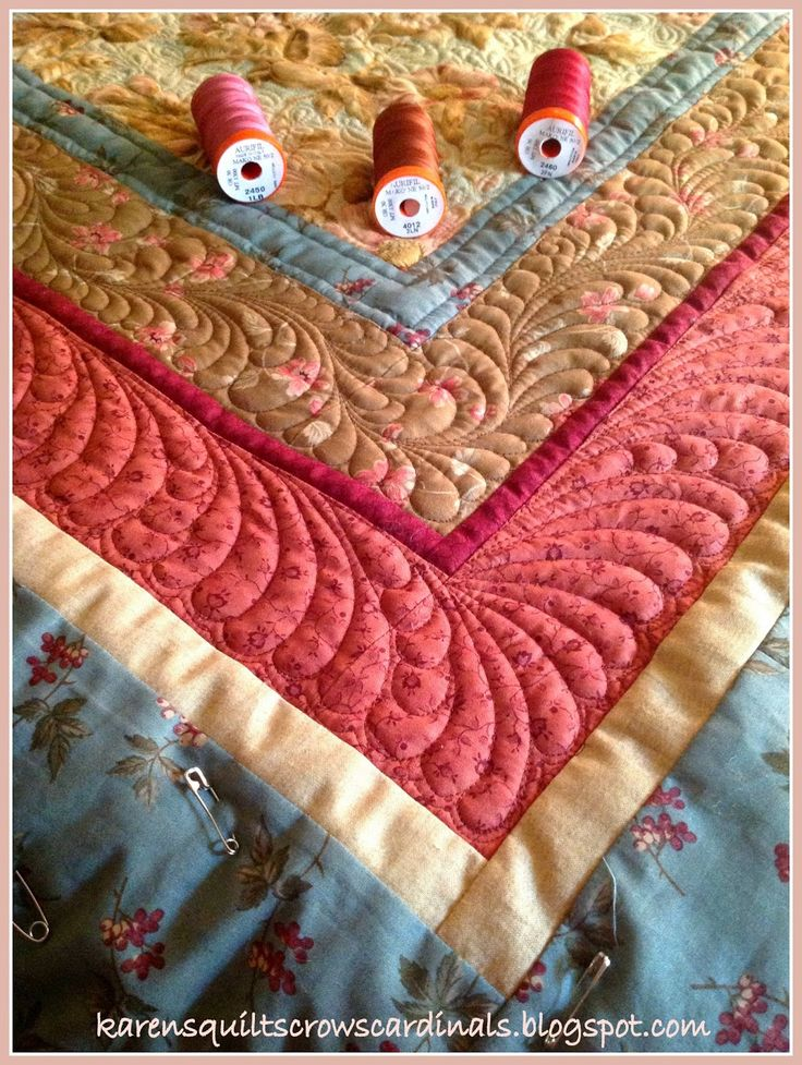 141 best Free Motion Quilting images on Pinterest | Embroidery ... : long arm quilting thread reviews - Adamdwight.com