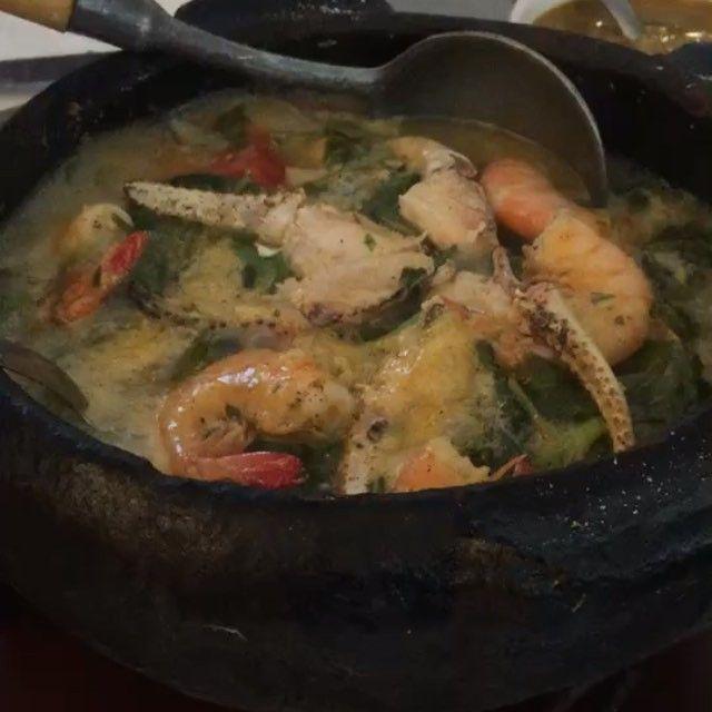 🍴 Moqueca do Pará 🍽 📍 Restaurante Brasileirinho  @restaurantebrasileirinho . 📌 Tv. Rui Barbosa, 2019  Belém - PA #guiafoodbrasil #belem #comida #moqueca #food #instafood #seafood
