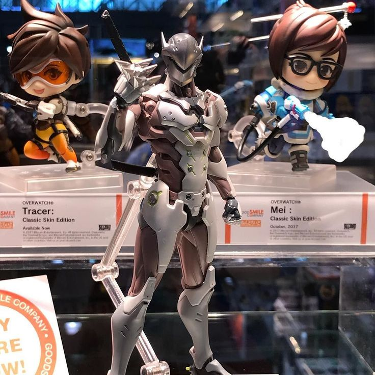 Genji Figma from @goodsmilecompanyofficial coming soon.  #overwatch #genji #figma #goodsmile #blizzard #preorder