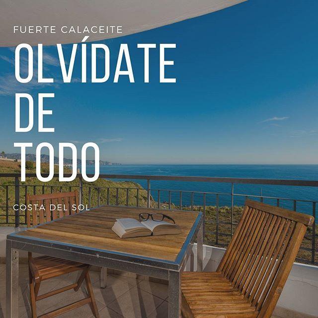 Desconectar de todo en la #CostadelSol en unos apartamentos ideales para toda la familia. Tienes que conocer #FuerteCalaceite  #FuerteHoteles #Torrox #TorroxCosta #Relax #vacaciones #lifestye