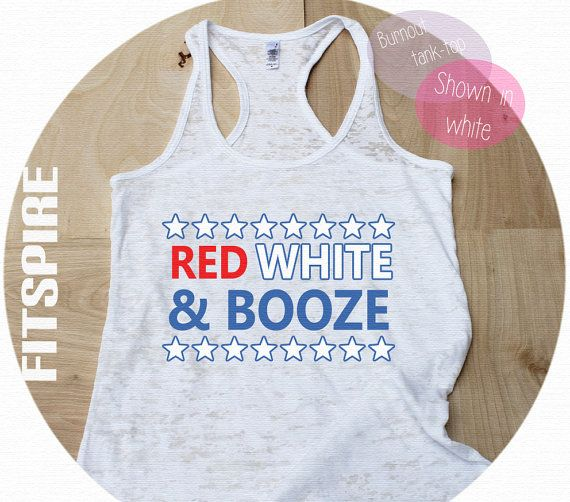 4th of july ladies tops