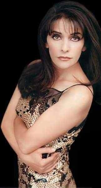Marina Sirtis #startrek Human/Betazoid Councilor Deanna Troi