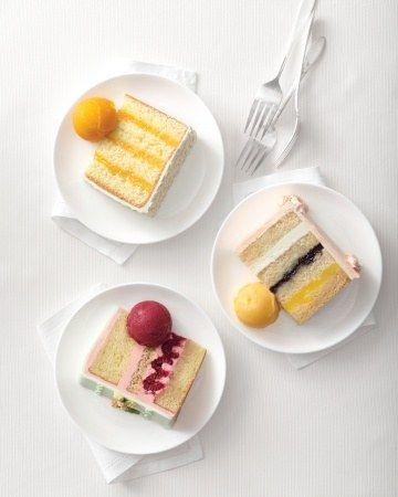 3色ケーキ