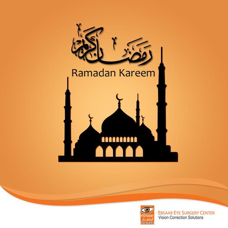 We, at #Ebsaar Eye Surgery Center, would like to wish all of our fans, #Ramadan Mubarak!  We hope you have a blessed #HolyMonth!  #Ebsaar #eyesurgerycentre #Dubai #eyeclinic #UAE #JumeirahBeachRoad #MyDubai #fasting #RamadanKareem