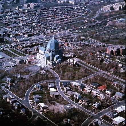 L'Oratoire Saint-Joseph, 1965 - Archives de la Ville de Montréal