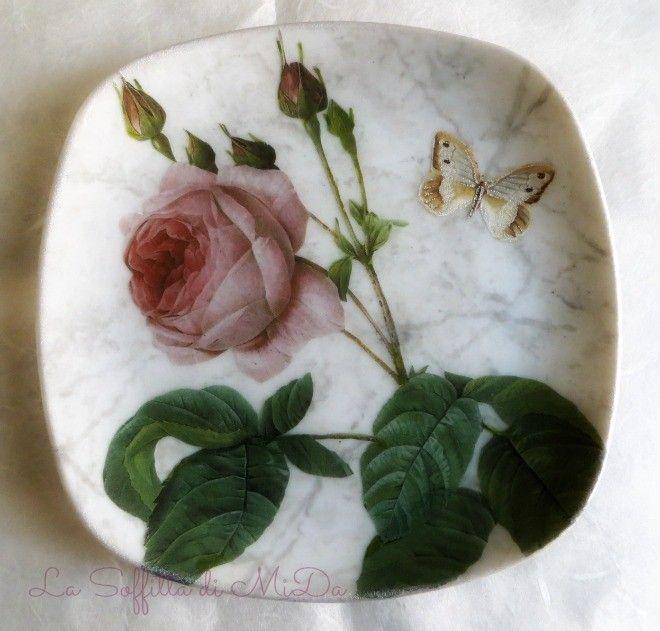 Imitazione marmo di carrara