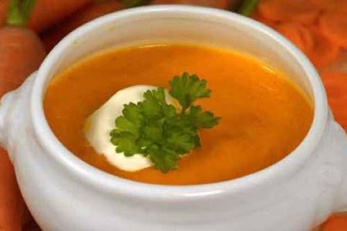 Rezepte für Kinder - Suppen: Karotten-Orangen-Suppe