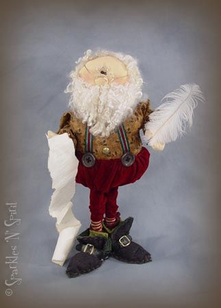 Cloth Doll Patterns- Sparkles N Spirits Whimsical Patterns- The Pattern Hutch Pigeon Forge TN