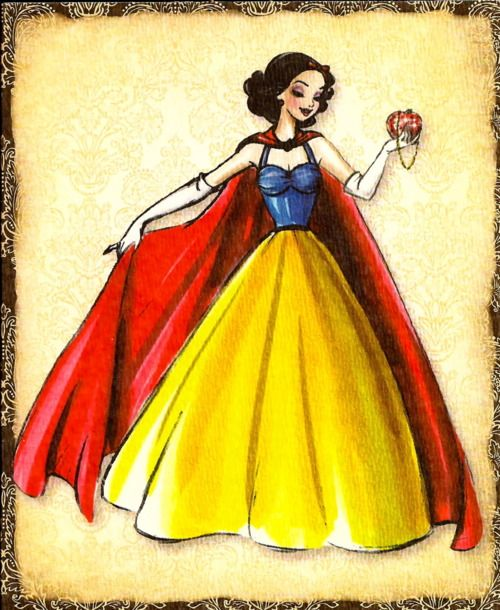 Snow White Disney Princess Designer Dress Collection