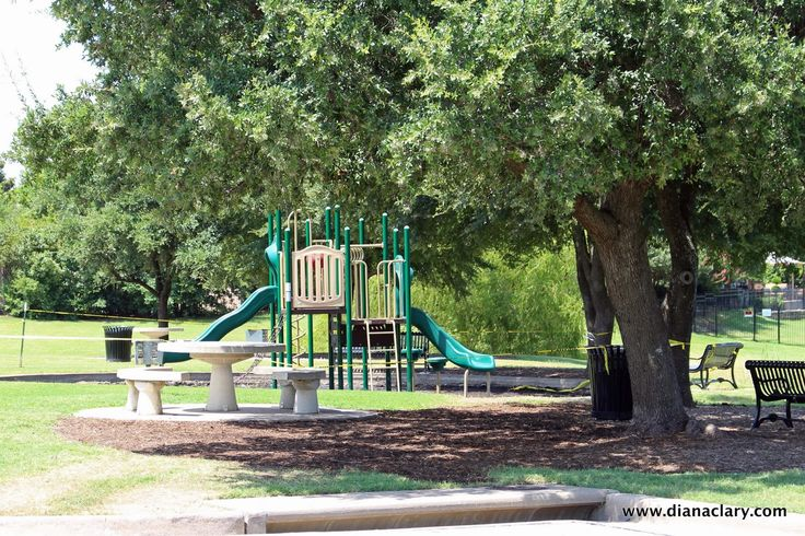 Nora Haney Park, McKinney, TX Outdoor chairs, Park, Lake